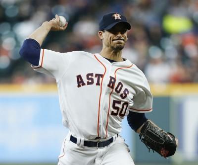 MLB》遭強襲球擊中無礙 太空人摩頓飆K退水手