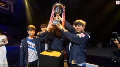 LOL》季賽冠軍五連霸! 閃電狼橫掃GRX奪2018春季冠軍