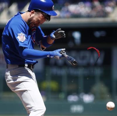MLB》「小老大」遭155公里速球爆頭   隊友出棒替他討公道(影音)