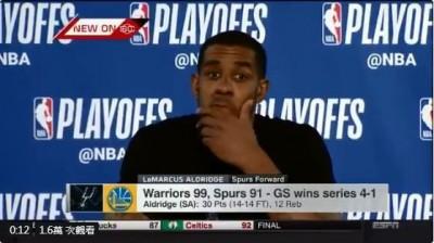 NBA》好尷尬!季後賽狂砍118分  球星賽後記者會竟沒人理(影音)