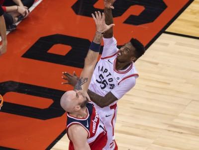 NBA》D.萊特決勝期扮奇兵 暴龍勝巫師聽牌