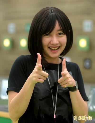 射擊》「證件妹」吳佳穎休學備戰亞運 目標站上頒獎台