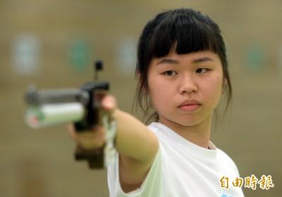 射擊》台師大余艾玟「熱力」訓練 全大運三連霸到手