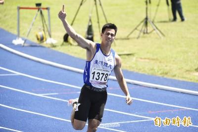 全大運》又破!「台灣最速男」楊俊瀚飆破200公尺全國紀錄