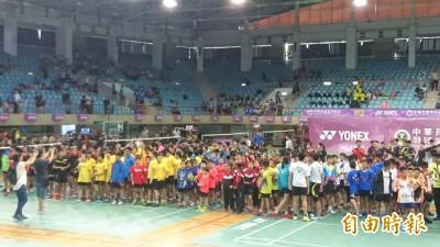 全國羽球錦標賽台南激戰 戴資穎、周天成、王子維均將出賽