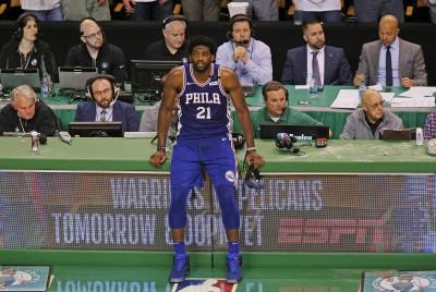NBA》次輪季後賽被聽牌! 七六人恩比德:比賽還沒結束