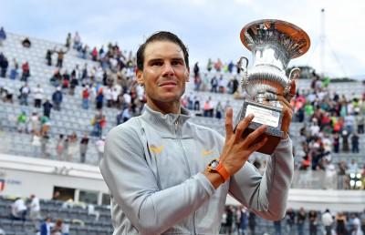 網球》紅土蠻牛強壓德國小鮮肉 羅馬名人賽8冠王