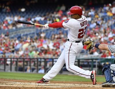 MLB》比哈波還狂! 國民19歲菜鳥生涯首轟就扛三分砲(影音)