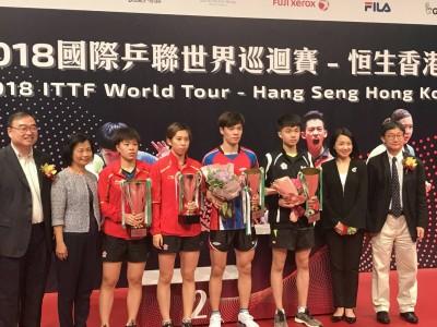 香港桌球公開賽》扳倒南韓世青亞軍 台灣神童第二冠到手