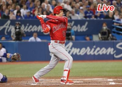 MLB Live》大谷翔平2打席獲1保送 天使 0:1 藍鳥