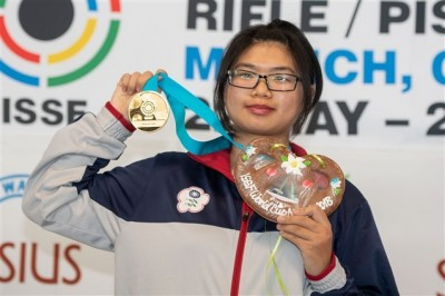 射擊》為亞運添信心!19歲女將林穎欣奪世界盃10公尺空氣步槍金牌