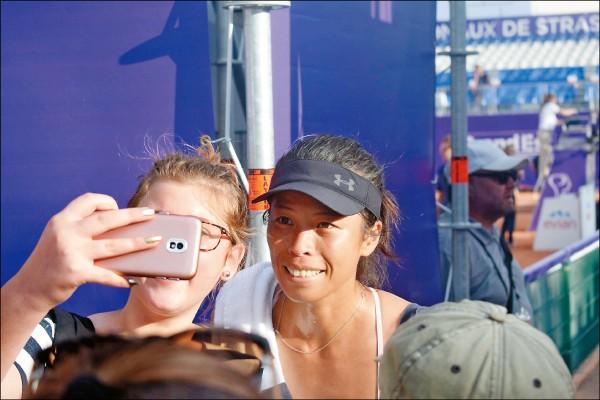 史特拉斯堡女網賽》拍落法網亞軍 謝淑薇單打排名再躍進