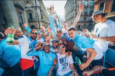 2018世足賽》狂!曼城17人入選打破高懸12年紀錄