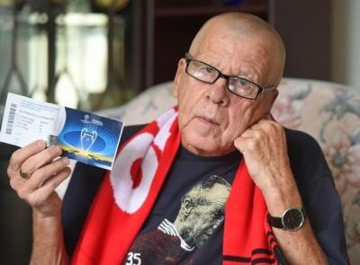 歐冠》錢也買不回的心碎!75歲利物浦球迷有決賽門票卻哭了
