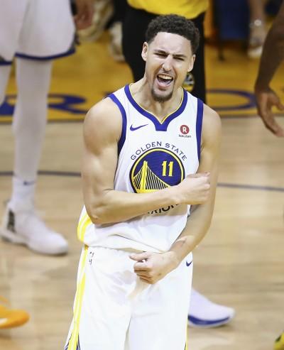 NBA》球給K湯!狂飆9顆三分球 率勇士逆轉火箭扳平戰局