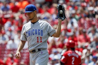 MLB》右臂發炎取消先發 達比修有再進傷兵名單