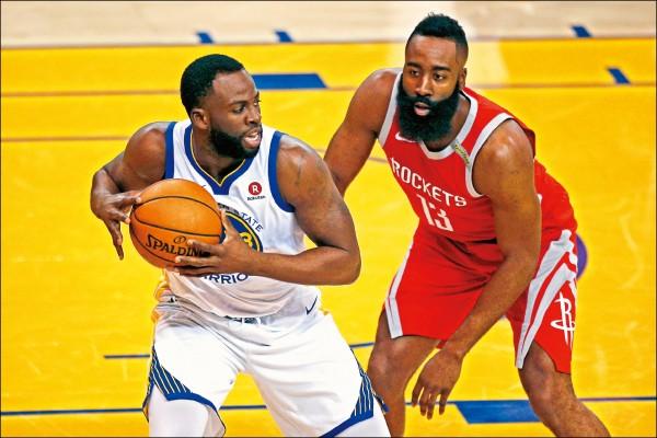 NBA》火箭只威半場 勇士「守」住生機