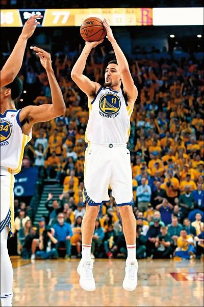 NBA》為關鍵時刻而生 浪花弟外線飆分