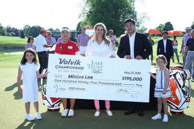 LPGA》李旻姬生日抱走Volvik 錦標賽冠軍 台將李旻並列32