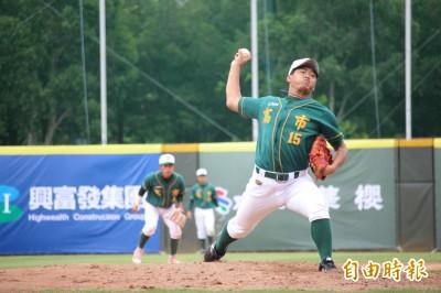玉山盃青棒賽》徐昇暉6.2局完美中繼  拒絕讓台東寫歷史