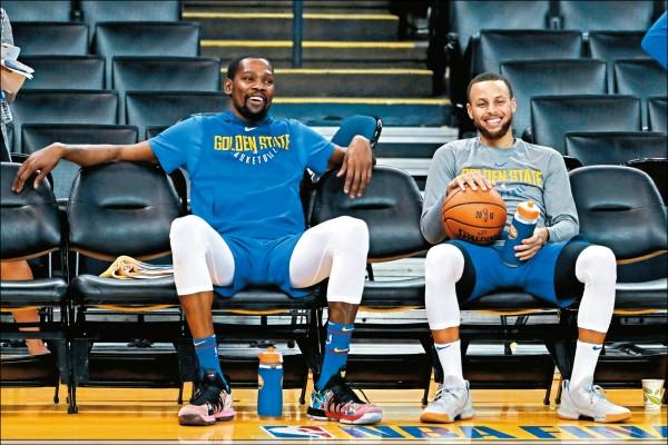NBA總冠軍戰》看淡FMVP 柯瑞一笑置之