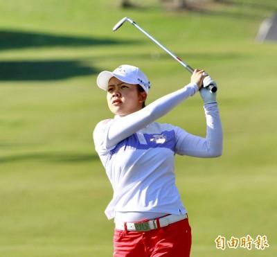 高球》美國女子公開賽第1回合 台將徐薇淩71桿並列19