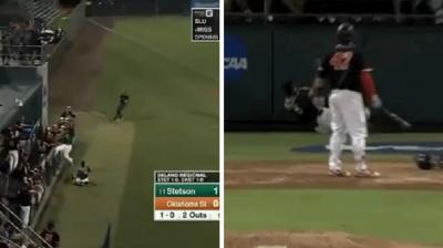 棒球》大聯盟等級的美技!大學球員精彩接殺登上官網(影音)
