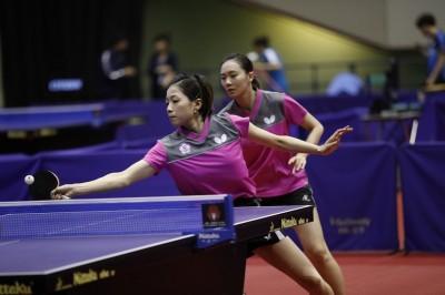 日本桌球賽》兩度扮演香港殺手 國泰組合首晉女雙四強