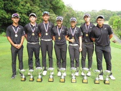 大專高爾夫錦標賽落幕 台北城市科大5金2銀2銅最風光