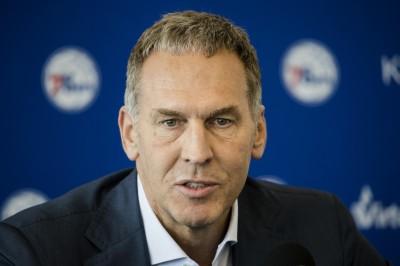 NBA》老婆開分身帳號批球員 七六人總裁辭職下台