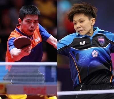 日本桌球賽》一日兩勝!台灣一哥、一姐同步躋身單打八強
