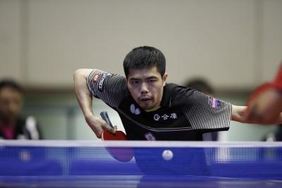 日本桌球賽》遭南韓高手大逆轉 莊智淵痛失四強門票