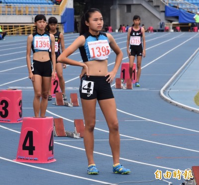 田徑亞青賽》最幼齒國手楊睿萱 女子400公尺跨欄奪銀牌