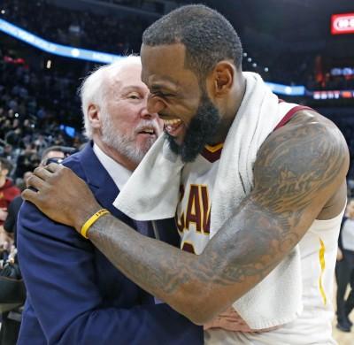 NBA》將天賦帶回馬刺? 波總將試著與詹皇接觸