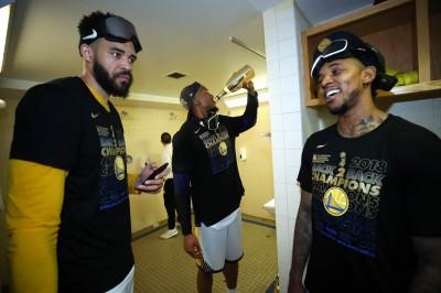 NBA》奪冠樂瘋了! 楊恩自封為「超潮冠軍」