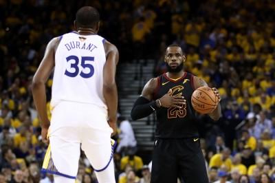 NBA》杜蘭特開嘲諷?賽後這番話疑在暗指詹姆斯