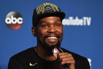 NBA》連霸、FMVP成就達成 杜蘭特自爆想在35歲退休