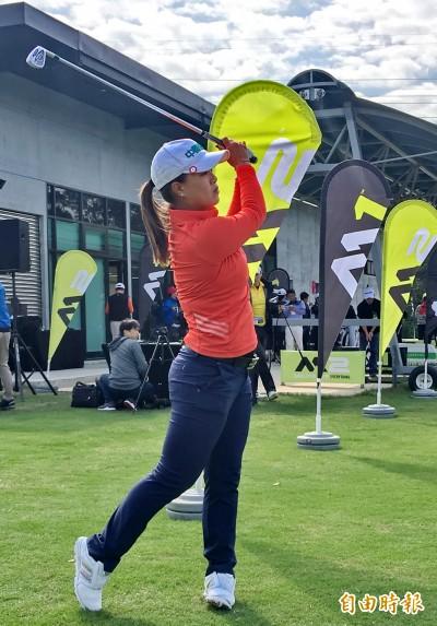 LPGA Symetra 巡迴賽》Forsyth菁英賽第1回合  程思嘉暫時並列第5