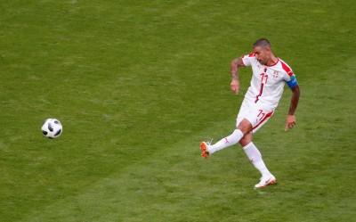 世足賽》關鍵自由球破網  塞爾維亞1:0氣走哥斯大黎加