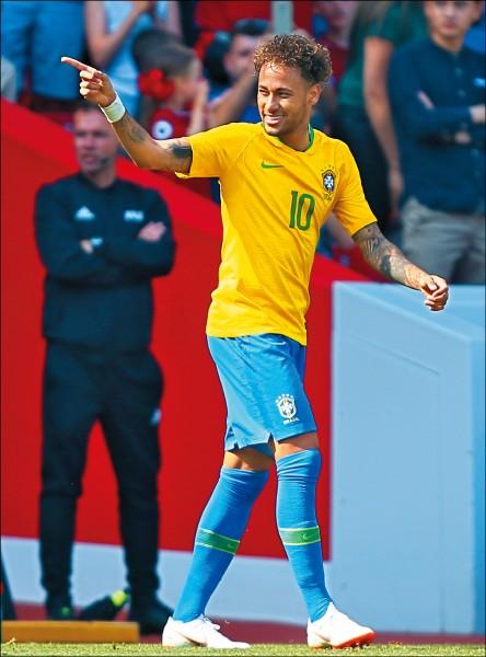 外媒3大理由 看好巴西奪冠