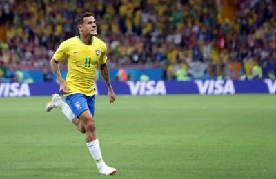 世足賽》庫提尼歐禁區外勁射 收個人世界盃首顆進球為巴西先馳得點