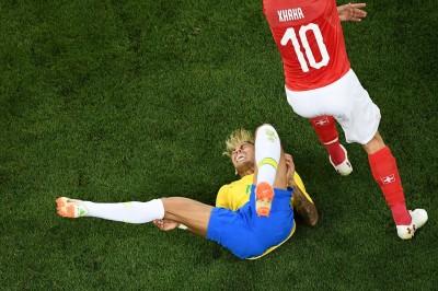 世足賽》瑞士重兵看防 內馬爾單場遭10犯創隊史新高