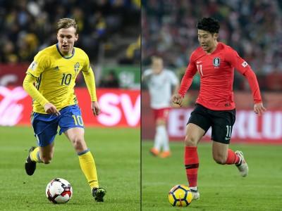 世足賽 Live》輸不得的一役! 瑞典v.s.南韓