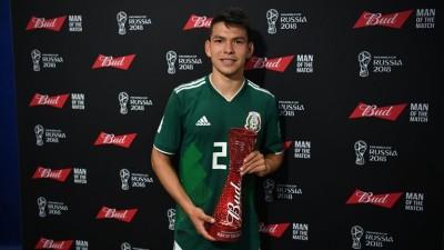 世足賽》墨西哥贏球功臣 洛薩諾獲選單場MVP