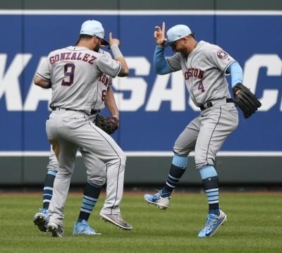 MLB》客場10連勝寫聯盟紀錄 太空人11連勝續霸聯盟(影音)