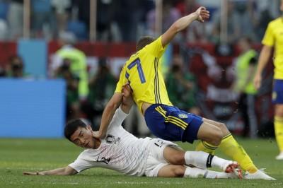 世足賽》VAR改判12碼罰球第二例! 瑞典打破南韓大門