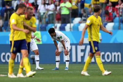 世足賽》南韓整場0射正、讓瑞典門將太閒 孫興慜扛責