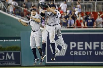 MLB》希克斯開轟、史坦頓猛打 洋基鐵牛棚鎖國民(影音)
