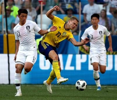 世足賽》瑞典破「首戰不勝」魔咒 嗆南韓反情蒐沒用