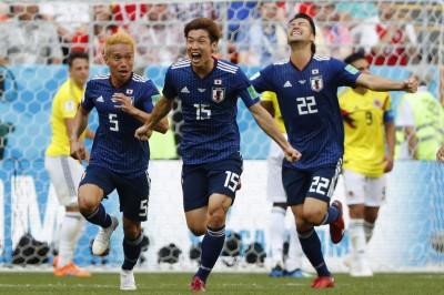 世足賽 Live》大迫勇也頭鎚建功 日本2:1爆冷勝哥倫比亞